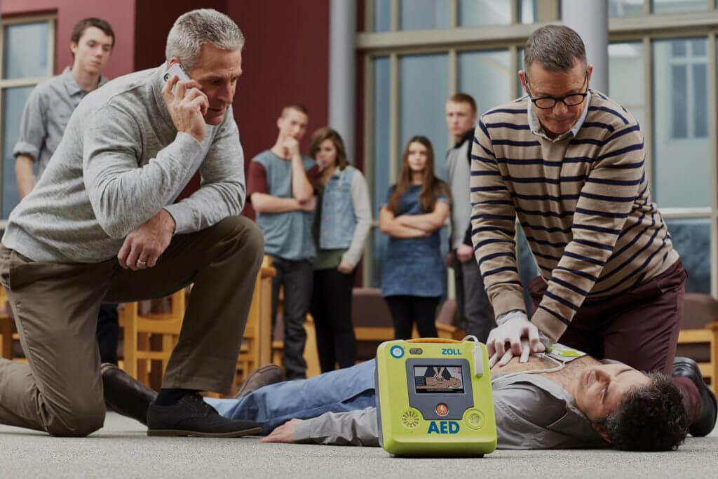 Wir haben den passenden AED für Ihren Ernstfall