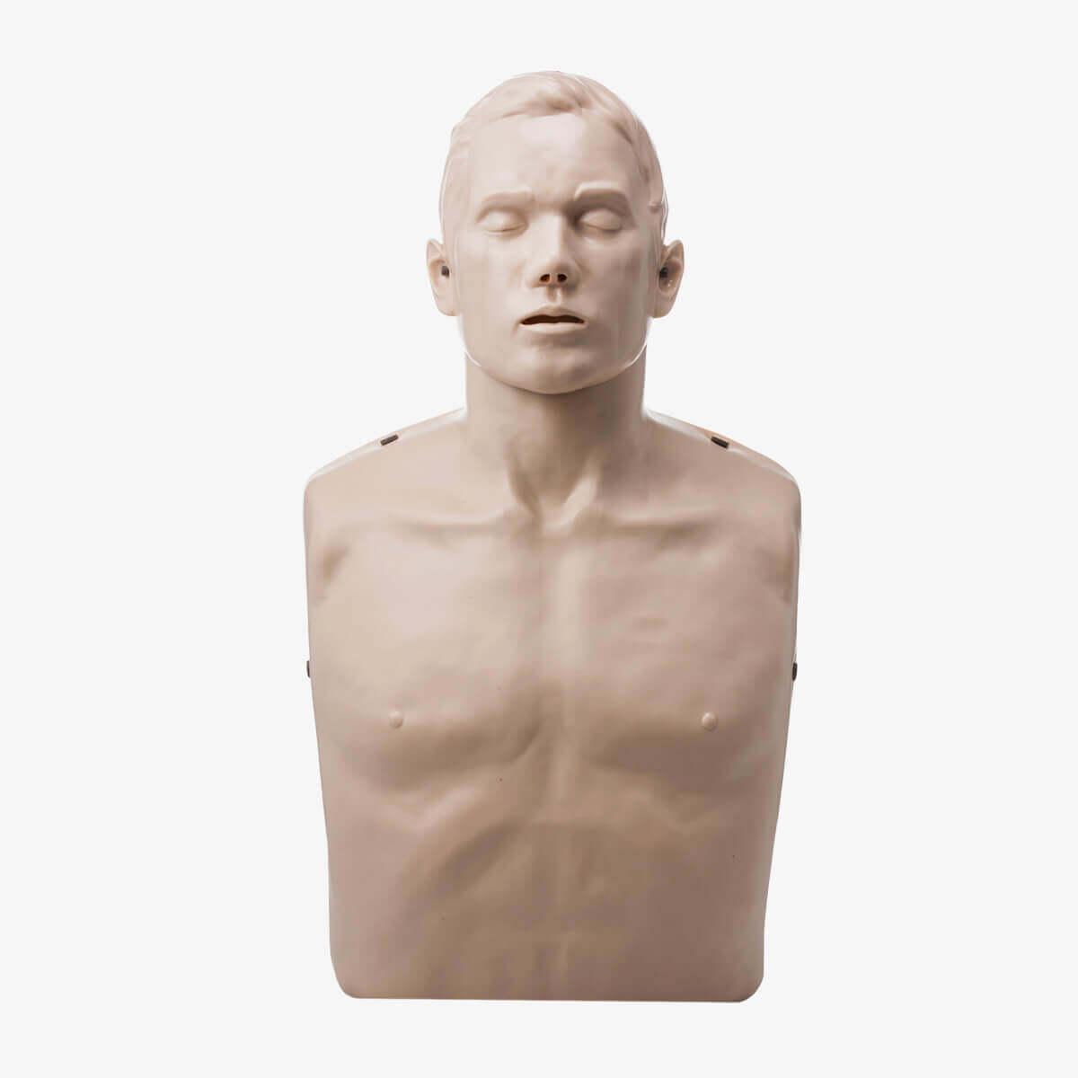 Brayden Übungspuppe für die Herz-Lungen-Wiederbelebung mit Klickgeräusch
