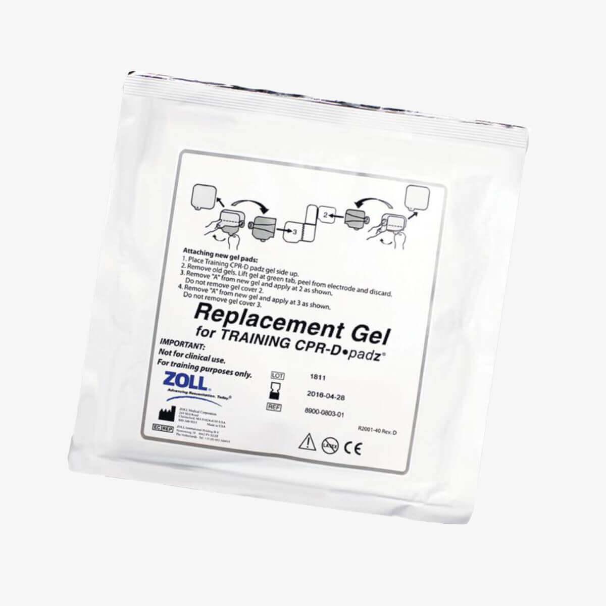 Ersatz-Haftgel für die Trainingselektrode des ZOLL AED Plus Trainers