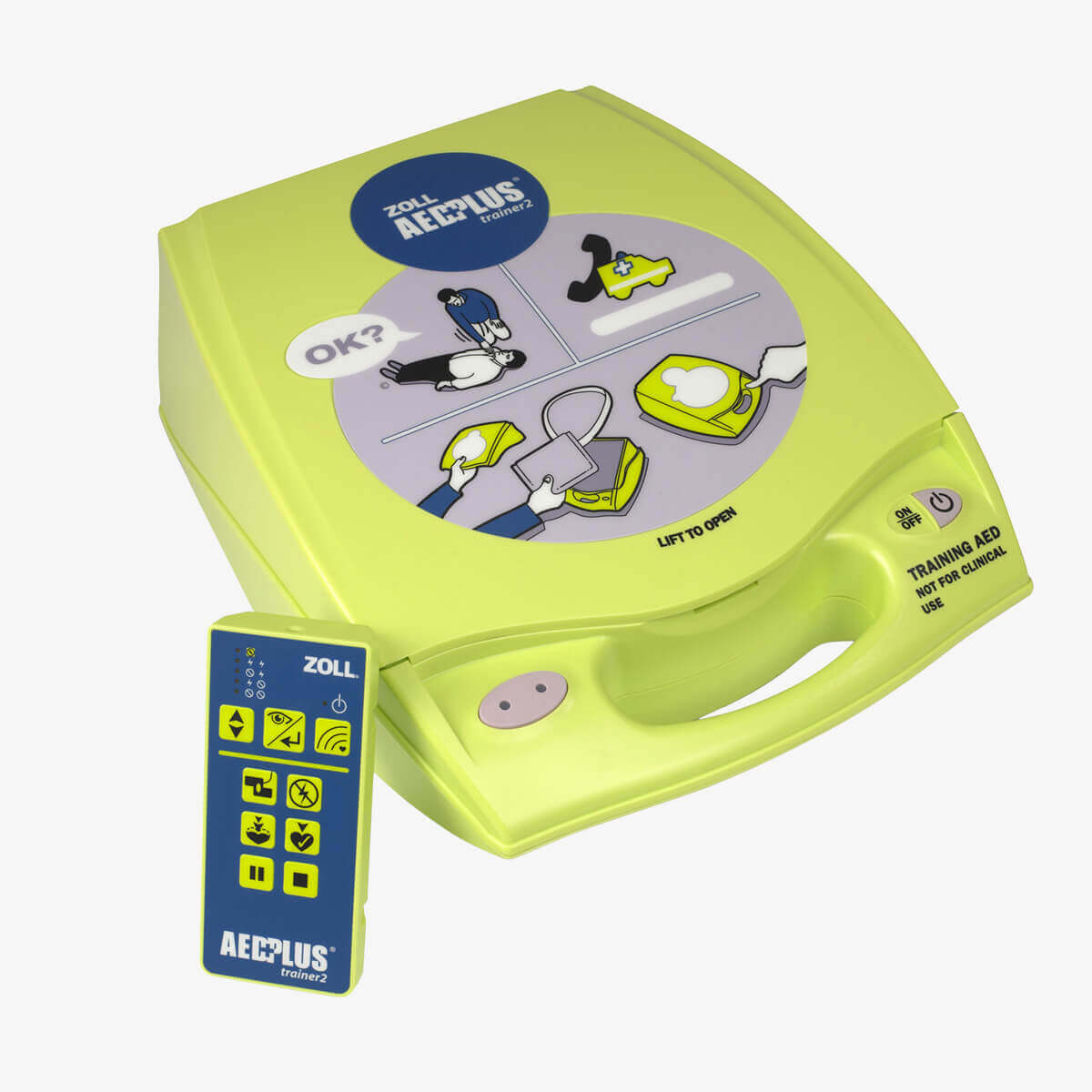 ZOLL AED Plus Trainer2 für das Training des ZOLL AED Plus