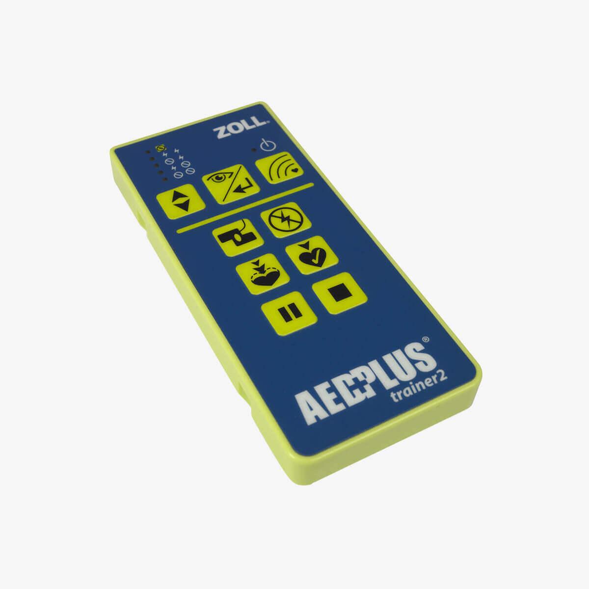 Fernbedienung für den ZOLL AED Plus Trainer2