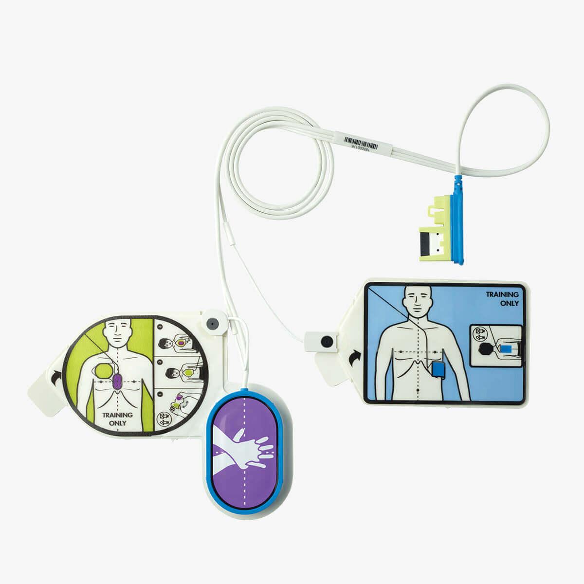 Trainingselektrode ZOLL CPR Uni-padz II für den ZOLL AED 3 Trainer