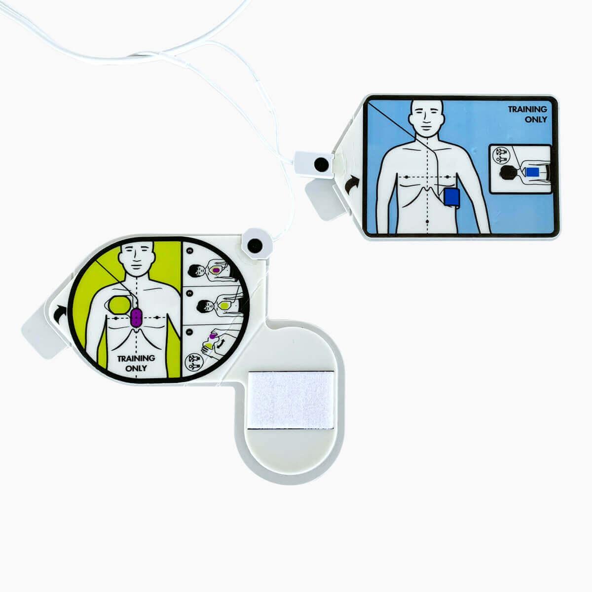 Ersatz-Trainingselektrode ZOLL CPR Uni-padz II für den ZOLL AED 3 Trainer